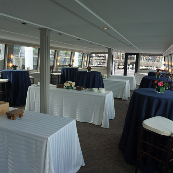pacific yacht charters-events-cocktail setup2